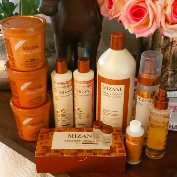 Mizani Butter Blend Hair Relaxer System